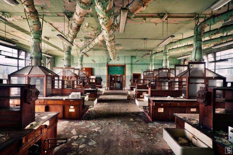 salle de chemie