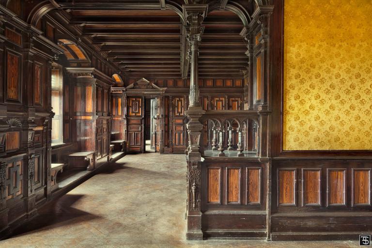 wooden parlour