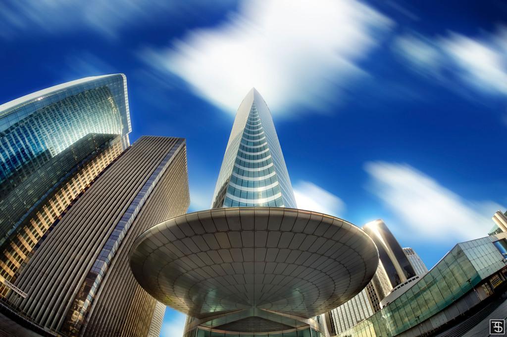 edf tower, la defense, paris