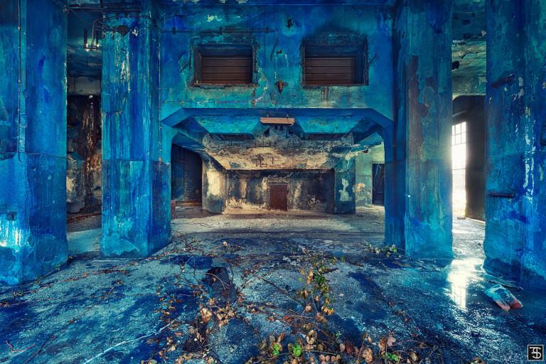 blue aftermath