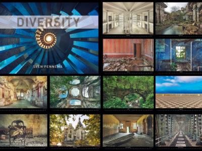 """Bildkalender """"DIVERSITY"""" (auf Lager / sofort verfügbar)"""