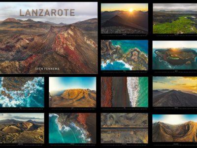 """Bildkalender """"LANZAROTE"""" – Wandkalender mit Landschaftsaufnahmen"""